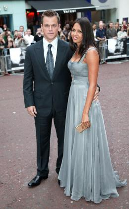 photo 38/133 - Matt Damon et son invit�e - Avant-Premi�re � Londres, le 15 ao�t 2007 - La Vengeance dans la Peau - © Paramount