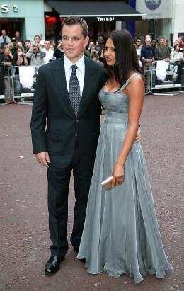 photo 39/133 - Matt Damon et son invit�e - Avant-Premi�re � Londres, le 15 ao�t 2007 - La Vengeance dans la Peau - © Paramount