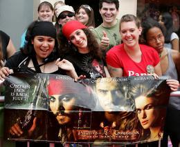 photo 41/81 - Avant-premi�re de Pirates des Cara�bes 2 � Los Angeles - Juin 2006 - Pirates des Cara�bes, le secret du coffre maudit - © BVI