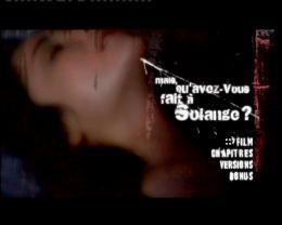 photo 1/2 - Menu Dvd - Mais qu'avez-vous fait à Solange ? - © Neo Publishing