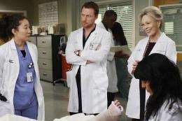 photo 100/308 - Sandra Oh,  Kevin McKidd, Faye Dunaway et Sara Ramirez - Saison 5 - Grey's Anatomy - © ABC