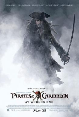 Pirates des Caraïbes : Jusqu'au bout du monde Affiche Teaser (Johnny Depp) photo 1 sur 43