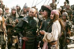 photo 16/43 - Chow Yun-Fat, Geoffrey Rush et Johnny Depp - Pirates des Caraïbes : Jusqu'au bout du monde - © BVI