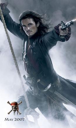 Pirates des Caraïbes : Jusqu'au bout du monde Affiche Teaser (Orlando Bloom) photo 3 sur 43