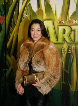 photo 104/117 - Avant-première à Paris d'Arthur et les Minimoys (novembre 2006) - Michelle Yeoh - © Isabelle Vautier pour Commeaucinema.com