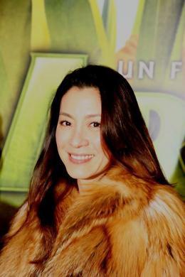 photo 102/117 - Avant-première à Paris d'Arthur et les Minimoys (novembre 2006) - Michelle Yeoh - © Isabelle Vautier pour Commeaucinema.com