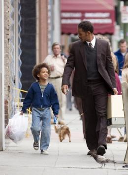 A la recherche du bonheur Jaden et Will Smith photo 1 sur 67