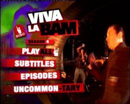 photo 1/2 - Menu Dvd - Viva la Bam' - Saisons 4 et 5 - © Paramount Home Entertainment Vidéo