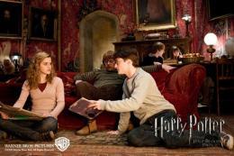 photo 63/160 - Emma Watson, Rupert Grint et Daniel Radcliffe - Harry Potter et le Prince de sang mêlé - © Warner Bros
