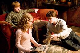 photo 61/160 - Emma Watson, Rupert Grint et Daniel Radcliffe - Harry Potter et le Prince de sang mêlé - © Warner Bros
