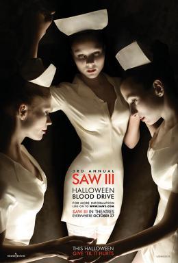 photo 17/24 - Affiches teasers américaines - Saw 3 - © Métropolitan Film