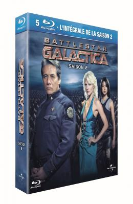 Battlestar Galactica - Saison 2 Coffret Blu-ray photo 1 sur 1
