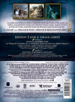 photo 18/18 - Dvd - Edition avec les deux versions - Le seigneur des anneaux : le retour du roi - © M�tropolitan Film