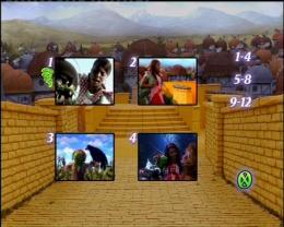 Le magicien d'oz des Muppets Menu Dvd photo 2 sur 2
