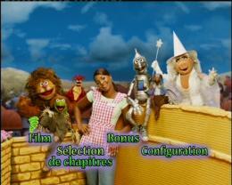 Le magicien d'oz des Muppets Menu Dvd photo 1 sur 2