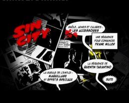 Quatre Histoires de Sin City - Director's Recut menu Dvd photo 2 sur 2