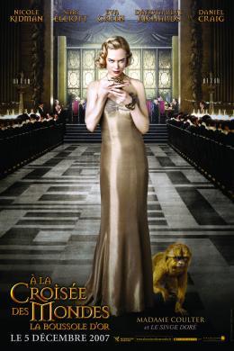 photo 98/100 - Affiche teaser française - A la croisée des mondes : La boussole d'or - © Métropolitan Film