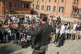 photo 48/52 - Hugh Jackman lors de la présentation du film à Paris (Avril 2009) - X-Men Origins : Wolverine - © 20th Century Fox