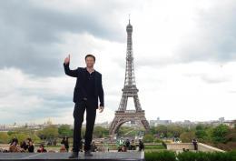 photo 50/52 - Hugh Jackman lors de la présentation du film à Paris (Avril 2009) - X-Men Origins : Wolverine - © 20th Century Fox