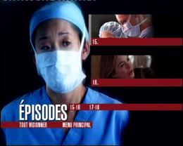 photo 2/2 - Menu Dvd - Grey'S Anatomy - Saison 2 (partie 2) - © Buena Vista Home Entertainment
