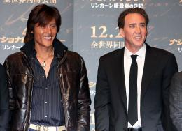 photo 47/120 - Tsuyoshi Shinjo et Nicolas Cage - Avant-Première à Tokyo le 5 décembre 2007 - Benjamin Gates et le Livre des Secrets - © Walt Disney Studios Motion Pictures France