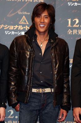 photo 46/120 - Tsuyoshi Shinjo - Avant-Première à Tokyo le 5 décembre 2007 - Benjamin Gates et le Livre des Secrets - © Walt Disney Studios Motion Pictures France