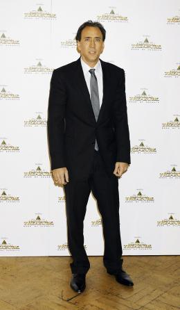 photo 89/120 - Nicolas Cage. Avant-Première à Londres le 10 décembre 2007 - Benjamin Gates et le Livre des Secrets - © Walt Disney Studios Motion Pictures France