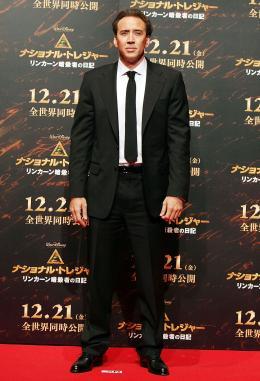 photo 37/120 - Nicolas Cage - Avant-Première à Tokyo le 5 décembre 2007 - Benjamin Gates et le Livre des Secrets - © Walt Disney Studios Motion Pictures France