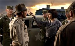 photo 15/126 - Harrison Ford et Cate Blanchett - Indiana Jones et le Royaume du Cr�ne de Cristal - © Paramount