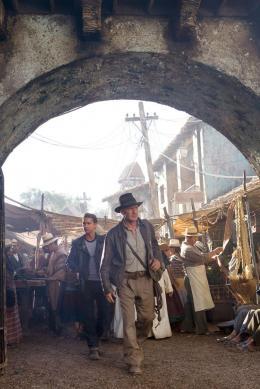 photo 14/126 - Shia Labeouf et Harrison Ford - Indiana Jones et le Royaume du Cr�ne de Cristal - © Paramount