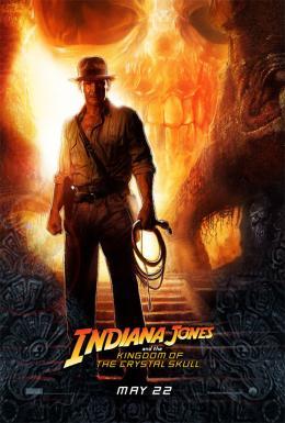 photo 57/126 - Affiche VO - Indiana Jones et le Royaume du Cr�ne de Cristal - © Paramount
