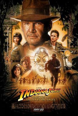 photo 58/126 - Affiche VF - Indiana Jones et le Royaume du Cr�ne de Cristal - © Paramount
