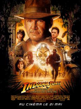 photo 60/126 - Affiche fran�aise - Indiana Jones et le Royaume du Cr�ne de Cristal - © Paramount