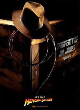 photo 56/126 - Affiche VO - Indiana Jones et le Royaume du Cr�ne de Cristal - © Paramount