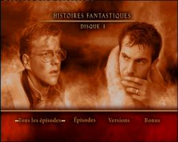 photo 1/2 - Menu Dvd - Histoires Fantastiques - Saison 1 - © Universal Pictures Vidéo