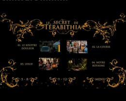photo 22/22 - Menu Dvd - Le Secret de Térabithia - © SND