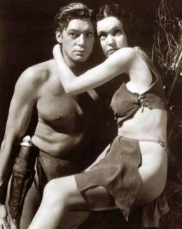 Johnny Weissmuller Tarzan, l'homme singe photo 3 sur 14