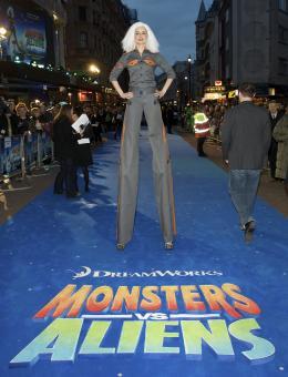 photo 56/121 - Avant-première à Londres (Mars 2009) - Monstres contre Aliens - © Paramount