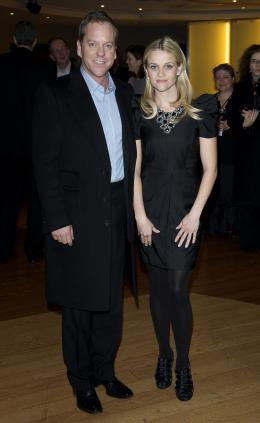 photo 85/121 - Kiefer Sutherland et Reese Witherspoon - Avant-première à Londres (Mars 2009) - Monstres contre Aliens - © Paramount