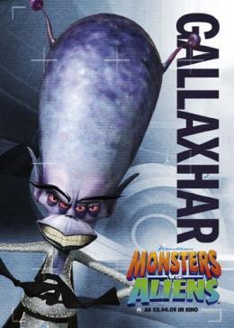 photo 23/121 - Affiche Allemande - Monstres contre Aliens - © Paramount