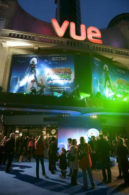 photo 70/121 - Avant-première à Londres (Mars 2009) - Monstres contre Aliens - © Paramount