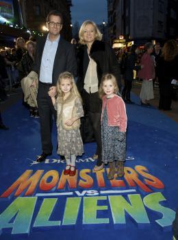 photo 71/121 - Alice Beer (présentatrice TV) - Avant-première à Londres (Mars 2009) - Monstres contre Aliens - © Paramount