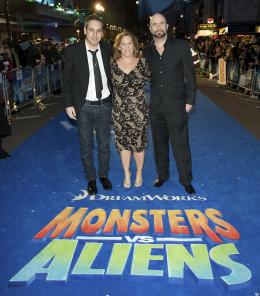 Conrad Vernon Avant-premi�re londonnienne de Monstres Contre Aliens photo 3 sur 7