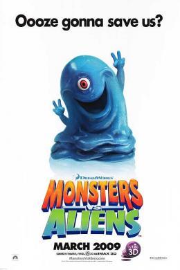 photo 12/121 - Affiche teaser américaine - Monstres contre Aliens - © Paramount