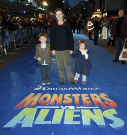 photo 94/121 - Camilla Rutherford - Avant-première à Londres (Mars 2009) - Monstres contre Aliens - © Paramount