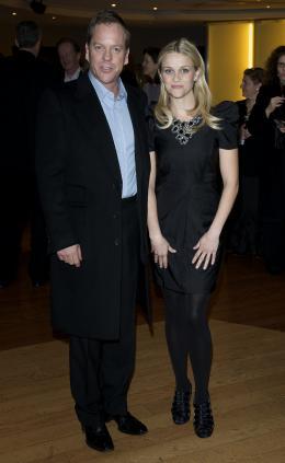 photo 63/121 - Kiefer Sutherland et Reese Witherspoon - Avant-première à Londres (Mars 2009) - Monstres contre Aliens - © Paramount