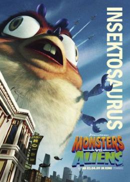 photo 22/121 - Affiche Allemande - Monstres contre Aliens - © Paramount