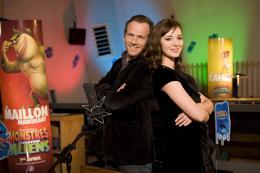 photo 43/121 - Louise Bourgoin et Stéphane Freiss - Sur le doublage - Monstres contre Aliens - © Paramount