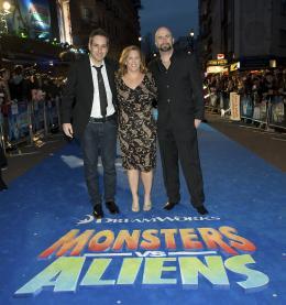 Conrad Vernon Avant-premi�re londonnienne de Monstres Contre Aliens photo 4 sur 7