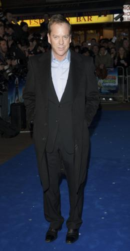 photo 72/121 - Kiefer Sutherland - Avant-première à Londres (Mars 2009) - Monstres contre Aliens - © Paramount